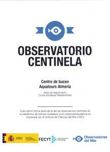 Certificado Observadores del Mar