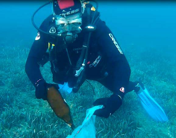 X Limpieza de Fondos Submarinos