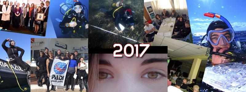 2017 en tan solo dos minutos y medio!