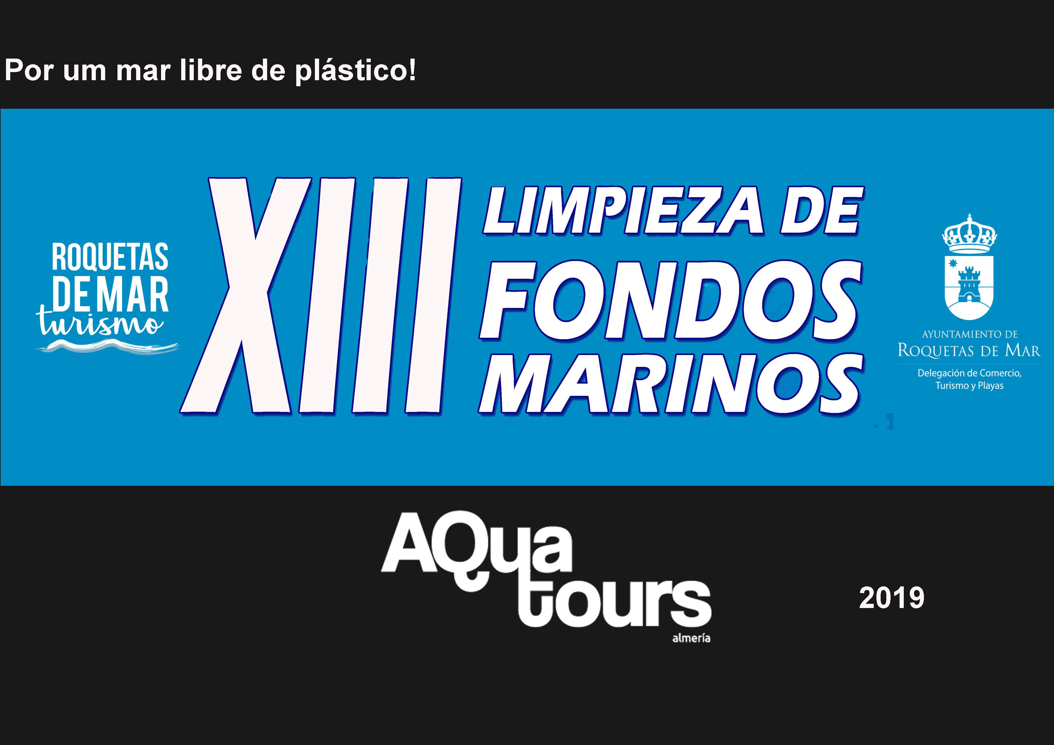 LIMPIEZA DE FONDOS: Por un mar libre de plásticos 2019